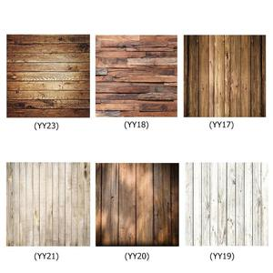Image 1 - 60x60cm Retro Wood Board Texture Photography Background Backdrop Cloth Studio Video Photo Backgrounds Props For Food