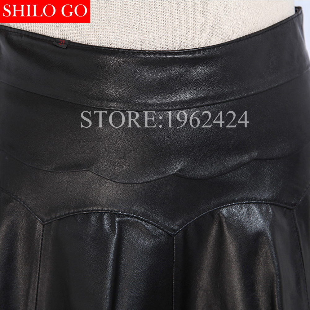 Skirt Vestido Inside Oveja Moda Negro Inside b 5xl Mujeres Alta Hoja Una Short Paraguas Loto A a Primavera Mini Inside Falda Nueva Borde De Piel Calidad 46qHHf