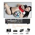 Ams sc358s 4 k processador de vídeo matrix switcher sdi para flexível criativo levou tela billboard