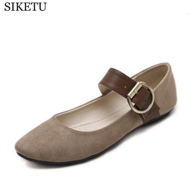 d5783ec9ce7fa SIKETU 2017 NEW Casual Shoe Spring Summer fashion flats women s flat shoes  woman ladies casual female ballet shoes k229