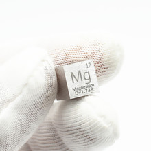 Metal Magnesium Mg Cube Element Collection Educational Tools Science Experiment 99.99% 4N 10x10x10mm  Flame reaction Shining цены онлайн