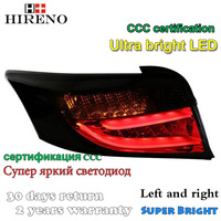 Hireno Tail Lamp For Toyota Vios 2014 2015 LED Taillight Rear Lamp Parking Brake Turn Signal