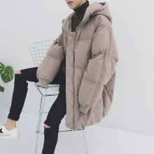 2017 Winter Hooded Cap Bread Coats Long Keep Warm Cotton-padded Clothes Parka Brand Casual Men's Fashion Snow Jackets M-2XL