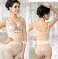 Drawing butt lifting abdomen slimming beauty care corset shaper wear women one piece underwear puerperal fat 1211
