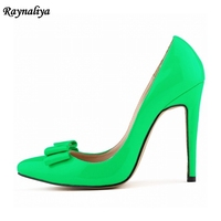 New Woman 13 Colors Plus Size 35 42 Spring Summer Autumn Pointed Toe Women Pumps High