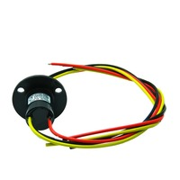 ZSR022 3R20A Capsule Slip Ring For Automatic Arm Slip Rings 3 Channel 20A Large Current Compact