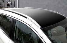 Exterior Car Styling Accessories Roof Top Mounted Rack Rails Bar Cover 1set For Nissan Qashqai 2014 2015 2016