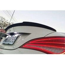 w117 C177 carbon fiber rear spoiler wing cla250 260 Mercedes cla45 FD style trunk spoiler for benz 2013~2015