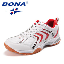BONA New Classics Style Men Tennis Shoes Lace Up Men Athletic Shoes Outdoor Jogging Sneakers Comfortable Light Free Shipping