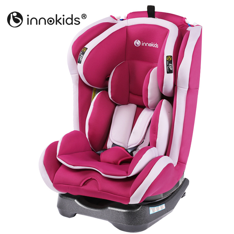 Innokids Child Car Safety Seat Baby Booster Seat Adjustable Height Sitting and Lying Five Point Safety Harness Newborn Car Seat 55cm 43cm 68cm kids basket type child car safety seat newborn baby sitting type safety seat inflant safety seat