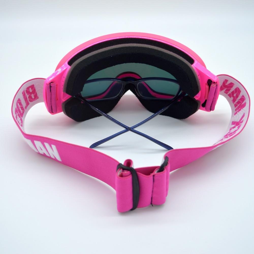 Nouveautés Professionnel Polarisées Homme Femmes Masque de Ski Double Lentille Ski Lunettes UV-protéger Sports de Neige Lunettes de Ski Lunettes - 5