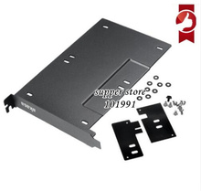 2.5inch Hard Drive Holder SSD HDD Mounting Adapter Bracket Double Hard Drive Bay HDD Storage Metal Rack For PCIe/PCI Slot