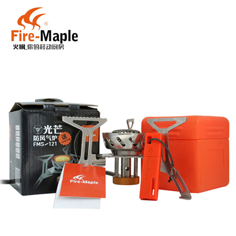 1Pc New Fire Maple FMS-121 Outdoor Camping Picnic Windproof Portable Split Fission Separate Cooker Gas Stove fire maple sw28888 outdoor tactical motorcycling wild game abs helmet khaki