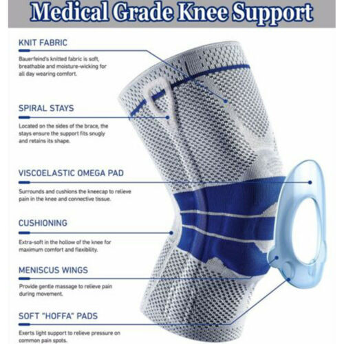 Spring Full Knee Brace 2