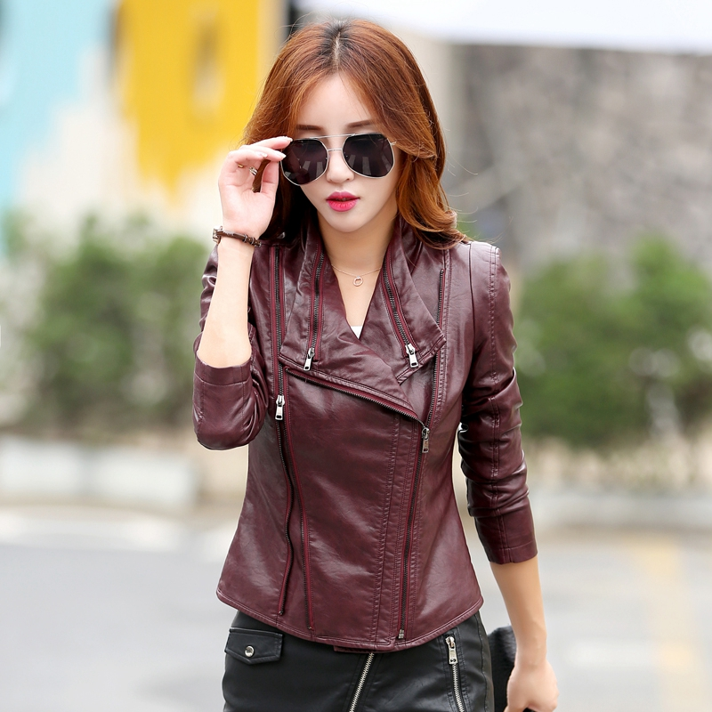Compare Prices on Discount Leather Jackets for Women- Online
