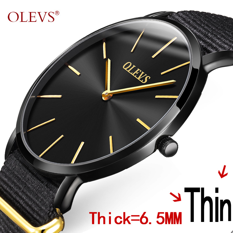 New 2017 OLEVS Watches Men Quartz Top Brand Analog Military Male Watches Men Sport Nylon Band Watch Waterproof Relogio Masculino 2017 new top fashion time limited relogio masculino mans watches sale sport watch blacl waterproof case quartz man wristwatches