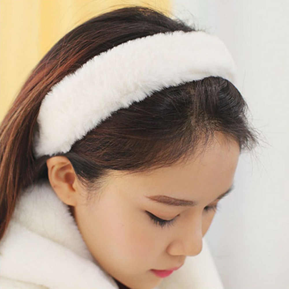 Detail Feedback Questions about Furling Girl 1 PC Faux Mink Fur Hair Bands  Hand Made Fur Head Bands for Women Faux Rabbit Fur Hair Accessories on ... d4b821830dce
