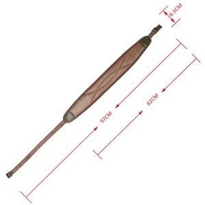 Image 3 - Tourbon ปืนไรเฟิลการล่าสัตว์ยุทธวิธีเข็มขัด Shotgun สายคล้องคอลื่น 62 97 ซม. ปรับ Neoprene กันน้ำสำหรับปืนอุปกรณ์เสริม