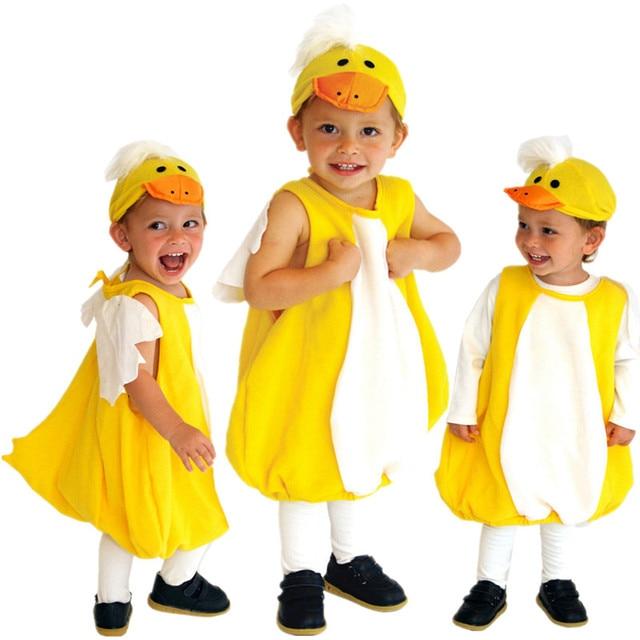 Kids Boys Girls Fancy Dress Yellow Child Duck Costume Fantasia Cosplay Clothes for Christmas Carnival Halloween  sc 1 st  AliExpress.com & Kids Boys Girls Fancy Dress Yellow Child Duck Costume Fantasia ...