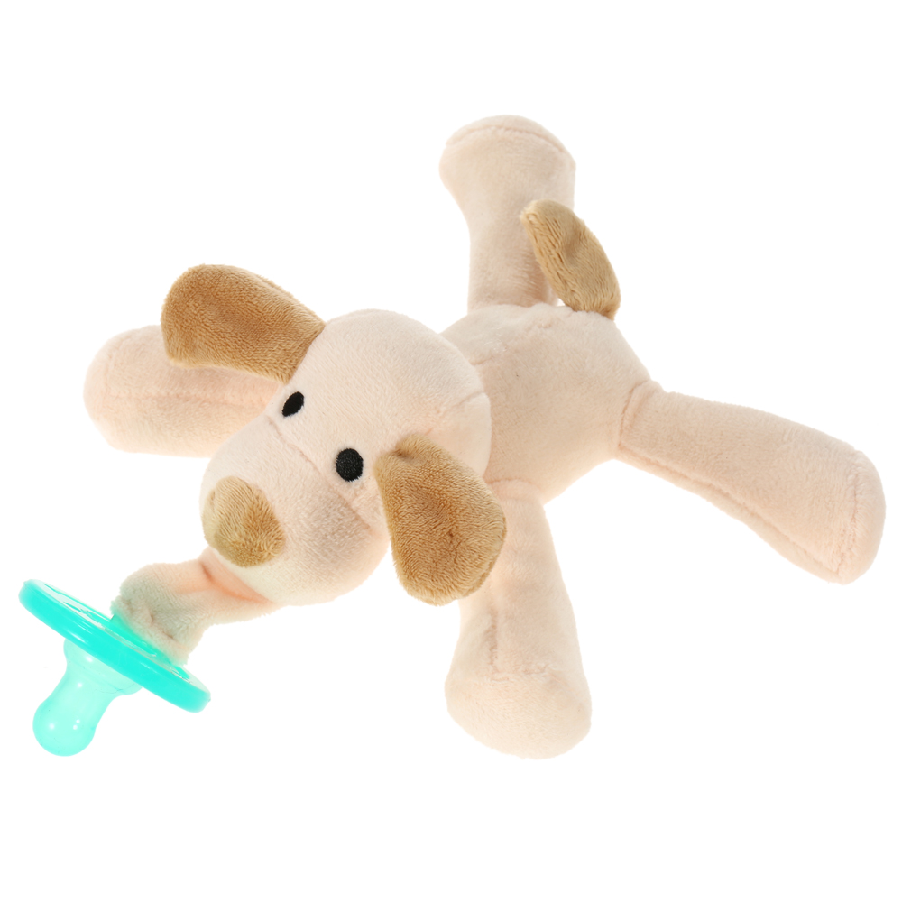 Newborn Silicone Babies Pacifiers Nibbler Animal Plush Nipple Soother Toys Boy Clips Chain Wubbanub Girl Toy Baby Pacifier Clip Nibbler