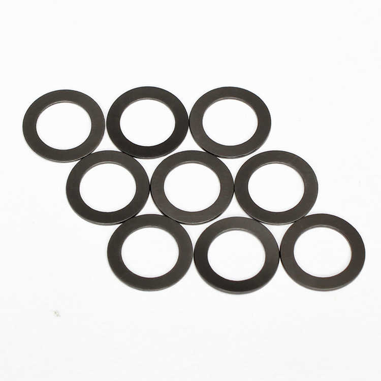 100pcs M4 nylon graphite washer flat washers plastic gasket ultra-thin gaskets high quality high temperature resistance black