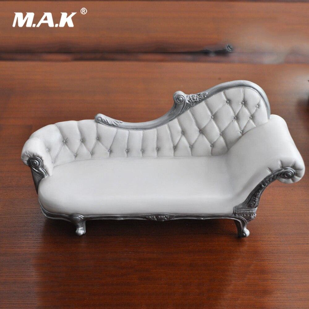 1/6 Scale White European Style Long Sofa Furniture Action Figure KUMIK AC-14 for 1:6 Action Figure Accessory1/6 Scale White European Style Long Sofa Furniture Action Figure KUMIK AC-14 for 1:6 Action Figure Accessory