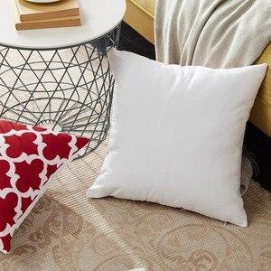 YokiSTG геометрические декоративные Чехлы хлопковый льняной наволочки для дивана, дивана, кресла, кровати бордового цвета