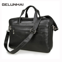 2017 Top Special Offer Genuine Leather Men Handbag High Quality Cow Briefcase Men's Messenger Luxury Crossbody Shoulder Bags