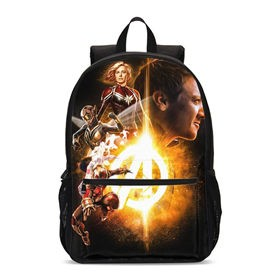 Backpack-For-Boys-Girls-Fashion-Marvel-Super-Hero-Captain-Marvel-Prints-School-Bag-Teenage-Children-Bookbag