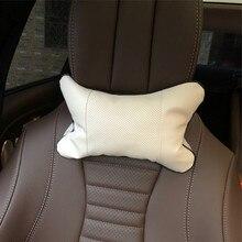 2 шт. подушка для шеи в автомобиль подголовник чехол для Lincoln MKZ MKX MKT для континентального Nautilus навигатор Авиатор