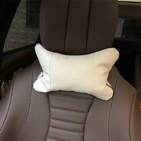 2pcs Car neck pillows headrest case for LINCOLN MKZ MKX MKT for Continental Nautilus Navigator Aviator Neck Pillow     -