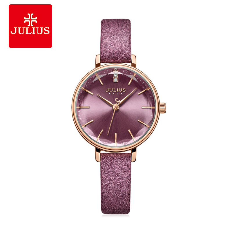 Julius Fashion Women Ladies Watch Stainless Geneva Rose Luxury Designer Women Watches Stylish Classic Casual Wristwatch JA-1115