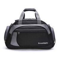 2017 New Professional Single Shoulder Gym Bag Fitness 35L Big Capacity Sports Bag Nylon Handbag Athletic