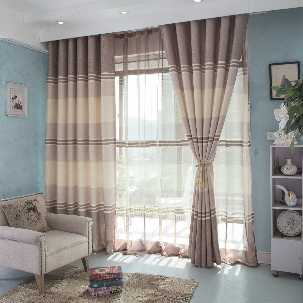 Fashions celebrities drapes insulated blackout curtains living room ...