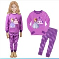 Girls Pajamas Princess Sofia Pyjamas Kids Sleepwear Birthday Costume Cartoon Pijamas Kids Winter Nightwear Children's Pajamas