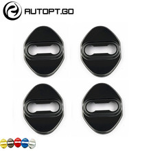 Black Universal Anti Rust Car DoorLock Door Lock Protective Cover For Honda Acura Civic Accord Crv