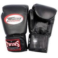 10 12 14 Oz PU Leather Boxing Gloves Sanda Sandbag Color Black Blue Red White Training