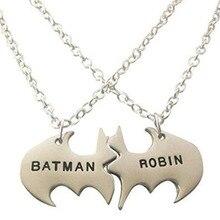 8b54e924058b Venta caliente tendencia Batman Robin personalizada mejores amigos amistad  COLLAR COLGANTE para hombres regalo