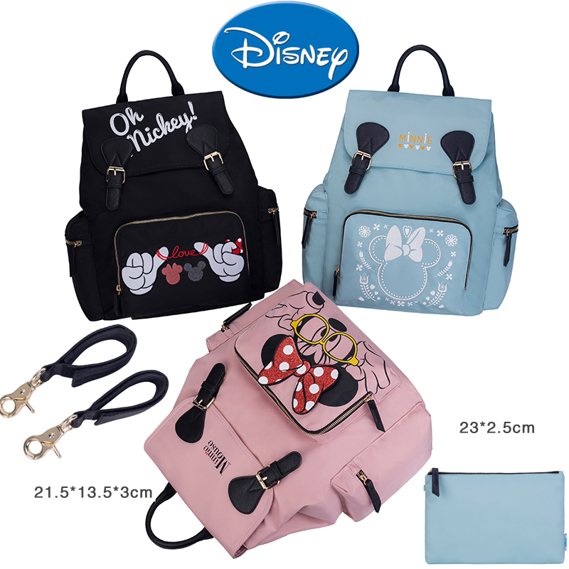 Disney Mickey Minnie Diaper Bag Backpack Mini Large Capacity Waterproof Baby  Care Stroller Accessories Handbag e6f78bf70246