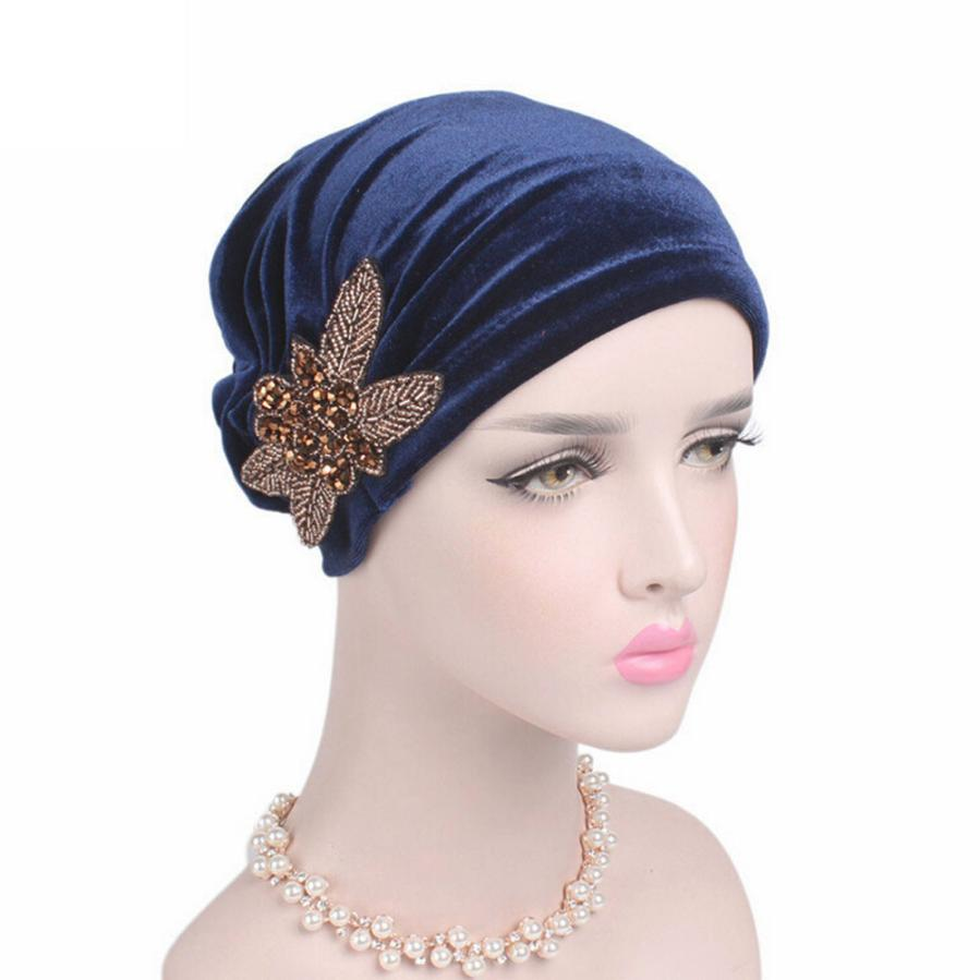 MUQGEW Fashion Women Velvet Casual Style Solid Color Hats ...