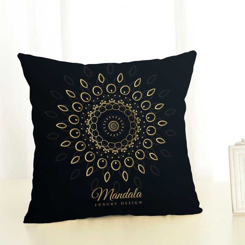 Throw pillow cushion cover Ramadan series office lumbar pillow sofa cushion pillow case decoration Islam Muslim Lesser Bairam