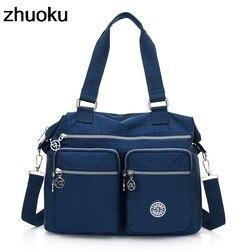 Bolsa de ombro feminina de ombro de luxo bolsas designer de náilon messenger bags praia casual bolsa feminina crossbody sacos