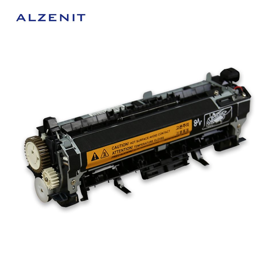ALZENIT For HP 4555 M4555 M 4555 New Fuser Unit Assembly RM1-7397 RM1-7395 220V Printer Parts On Sale second hand for hp laserjet m1120 m1120 fuser assembly fixing unit 220v printer parts on sale