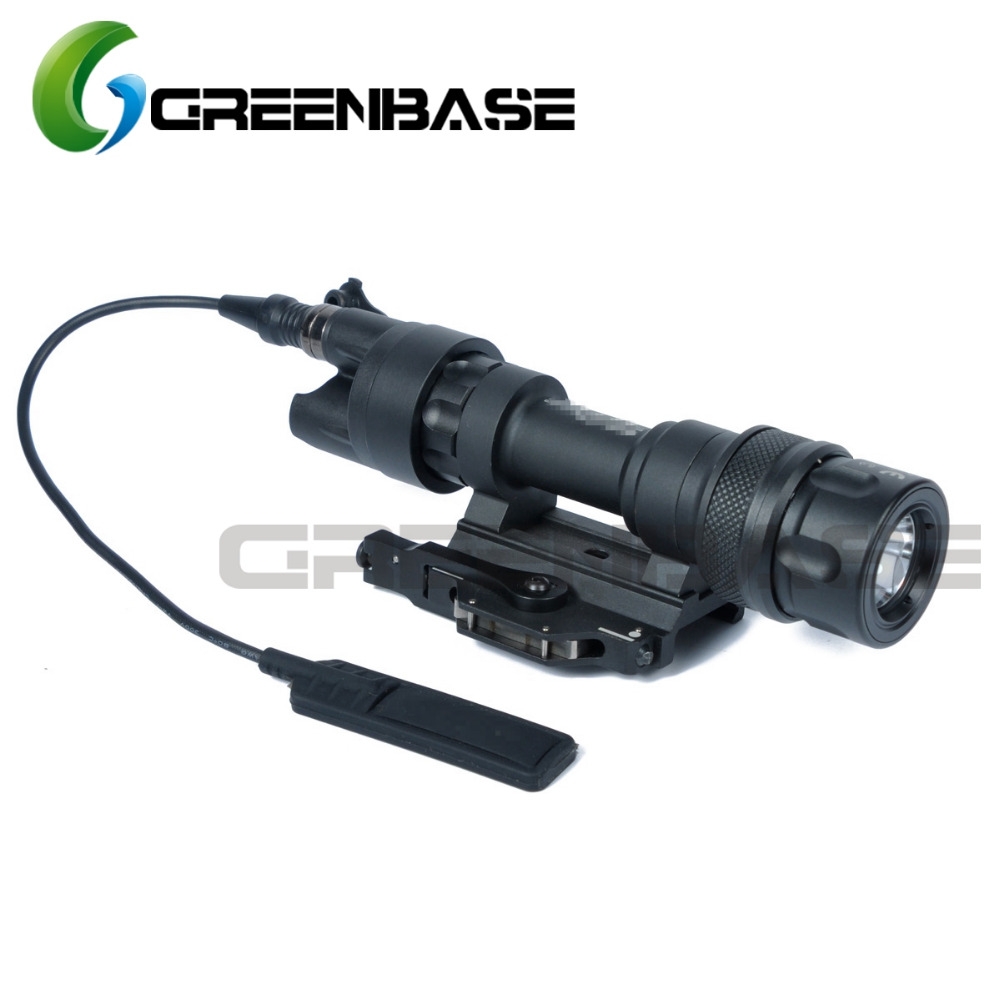 Greenbase M952V IR Scout Light LED WeaponLight Constant White / IR /Momentary White Mode Output Waterproof Flashlight QD Mount