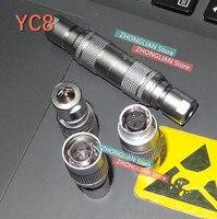 Set = 1 2 pcs Aviation plug and socket YC8 YC8 2 2 core 3 core 4 core 5 core 6 núcleo núcleo 8 7 MM conector rápida encaixe ar|Conectores|   -
