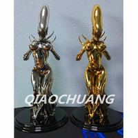 Statue Alien vs Predator Alien Queen Bus Galvanograph Resin Full Length Portrait Action Figure Collectible Model Toy Boxed W164