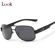Fashion Men's UV400 Polarized Sunglasses Men Driving Eyewear Sun Glasses Retro Shades Brand Designer Outdoor Goggles Oculos