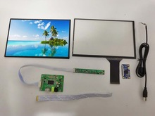 цена на 10.1 inch 1920 *1200  LCD Display capative touch panel Monitor Remote 2AV HDMI  Driver Control Board for diy project