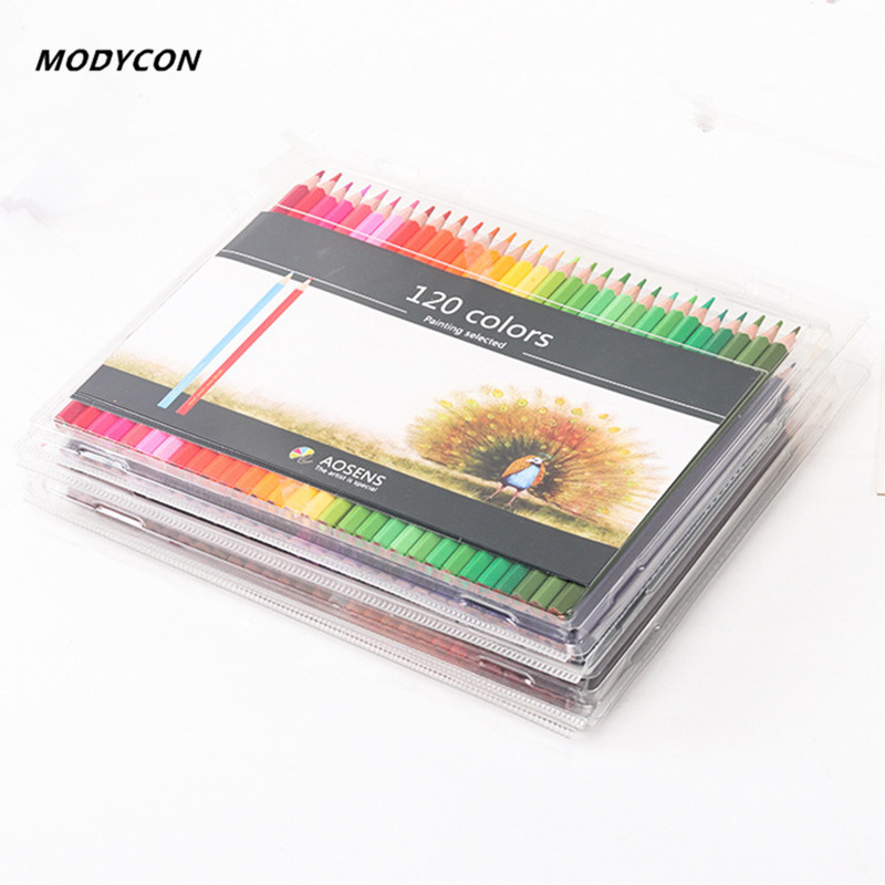 120 Colors Wood Colored Pencils Set Lapis De Cor Artist Painting Oil Color Pencil For School Drawing Sketch Art Supplies deli colored pencil nature wood drawing pencils art accessories 18 colors lapis de cor professional pencils cute stationery