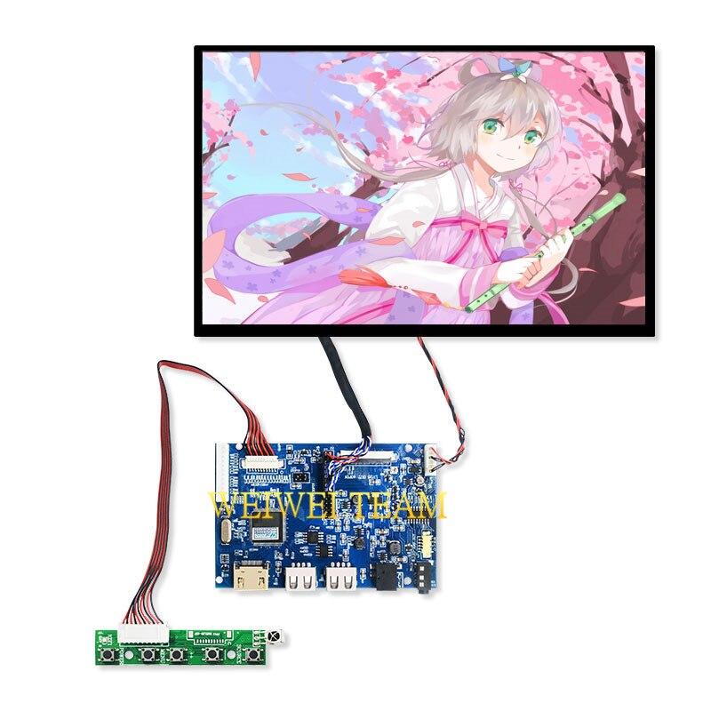 10.1 ''pouces 1280*800 IPS LCD écran affichage tablette PC ordinateur portable panneau de remplacement TTL LVDS 40 broches HDMI carte contrôleur USB